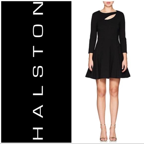 1f1076582dec Halston Heritage Dresses | Nwt Halston Black Ponte Dress Sz 4 | Poshmark
